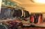 Upstairs bedroom-Walk in closet