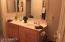 Downstairs bathroom- 2 sink vanity