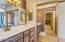 Full view of master bathroom