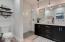 Gorgeous bathroom, dual sinks
