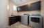 Laundry Room with Cabinets ad Sink