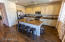 Kitchen island is 88 x 41 - HUGE ! Must see in person to believe.