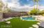 Just a great place to play! No lawn mower needed here! New artificial turf grass . Updated pool and Motor.