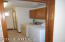 Washer/Dryer and hallway to main bath