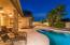 Your own sparkling pool in your private backyard oasis
