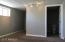 Master Bathroom and hallway to large room