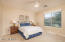 Ceiling fan with light, wood blinds, upgraded carpet