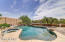 Heated salt-water pool and spa on your premium lot.