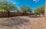 South end of backyard
