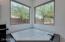Jacuzzi tub motorized window shades