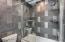 Main bath tile shower
