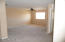 Really big upstairs bonus room/loft