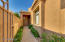 Welcoming gated Brick-Paved entry provides privacy.