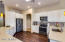 Stainless Appliances, designer decor at Kitchen