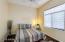 High Ceiling Guest Bedroom w/Fan