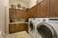 Fantastic Laundry Space and Cabinet Storage