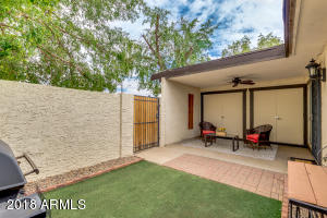 Extended patio, artificial grass and pavers make this a great place to relax or entertain!