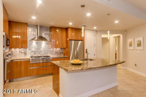Gourmet Kitchen with Contemporary Finishes