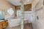 Master bath with huge walk in shower