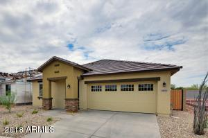 Fully completed spec inventory home at Deer Valley Villas by Lantana Homes.