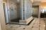 Huge Walk-In Shower! The Master features His and Hers Walk-In Closets as well!!