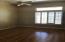 Bedroom 2 with wood laminate floors