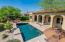 Swim laps and relax in this amazing back yard.
