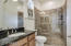 NextGen bath has upgraded tile surround and easy access walk-in shower.