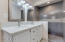 Double SInks and Walk-in Shower in the Master Bathroom.