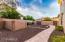 HUGE side yard with custom paved walk areas & RV Gate