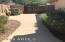 Side yard with RV Gate