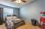 Nicely sized second bedroom