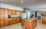 Ample cabinetry with endless storage