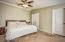 Master bedroom is also light and airy