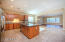 Kitchen/family room unfurnished