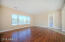 Family room/kitchen unfurnished