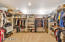 Check out this master closet 15x12 feet of space with built in shelving. With this space who needs another closet
