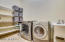 oversized laundry with sink!