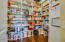 upgraded pantry creates additional space!