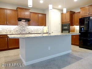 Upgraded Kitchen with under cabinet lighting and back-splash