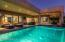 Night Pool and patio