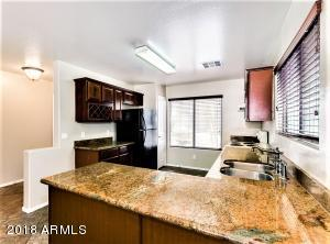 Upgraded Kitchen with Granite & Cherry Cabinets