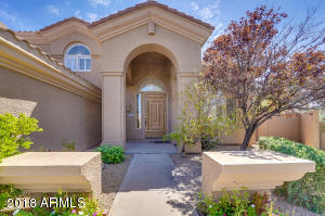 Beautiful entry with oversized newly refinished door & new exterior paint...