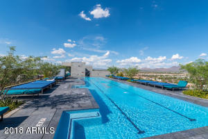 Relax in style by the roof top lap pool with 360 degree views of the valley. Also enjoy the spa, steam and sauna and more.