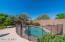 Mature landscaping allows this pool to truly become an oasis.