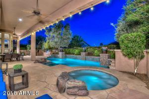 Pool, Spa, Covered Patio along the entire back, Built-in BBQ Island