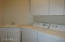 Laundry room with sink/cabinets