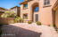 Front Courtyard- gated, brick paved, TV pre-wire