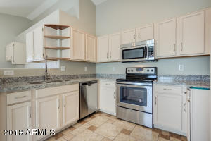 You will love the freshly installed granite counters!