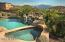 Great views of Four Peaks from the pool and spa
